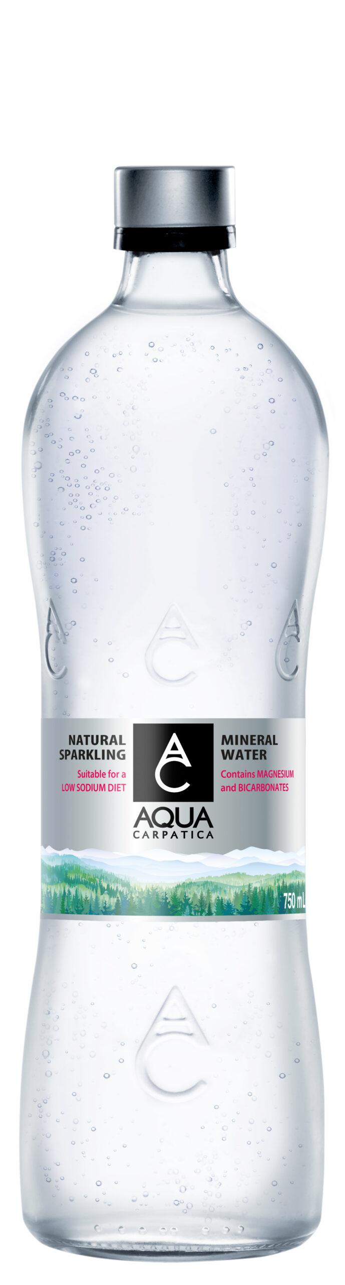 fles agua carpatia bruiswater
