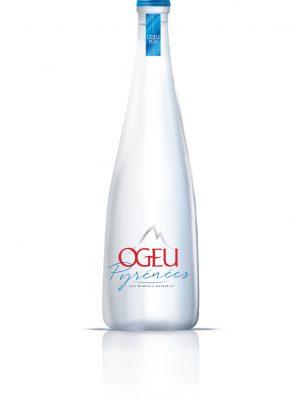 Fles Ogeu platwater