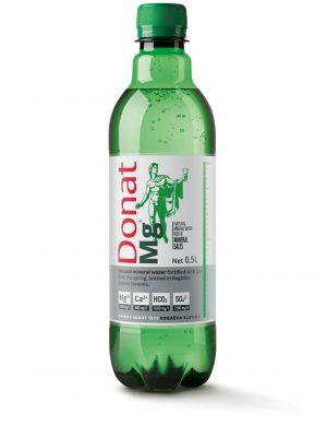 fles donat platwater