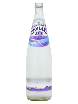 fles highland plat water